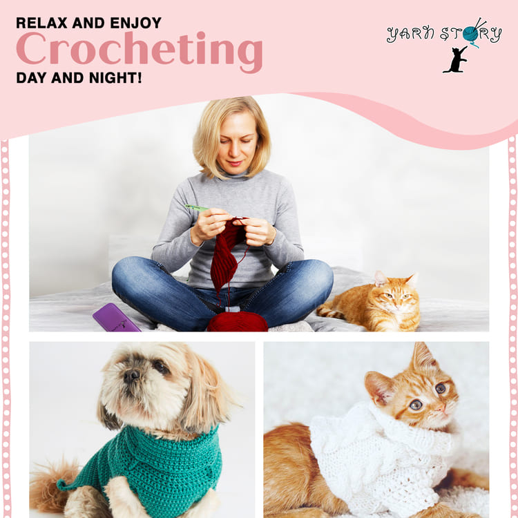 Crochet Story - Relax And Enjoy