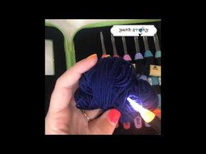 Load and play video in Gallery viewer, Crochet Light Hooks - Crochet Story