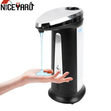 Load image into Gallery viewer, 400Ml Automatic Liquid Soap Dispenser