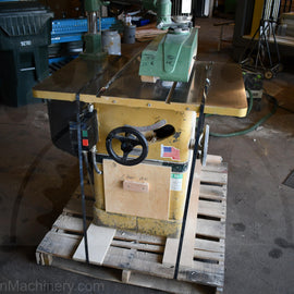 Powermatic 66 Table Saw with Maggi Steff 2048 Power Feeder