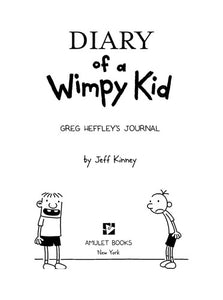 Diary of a Wimpy Kid : Jeff Kinney