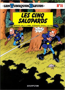 Les tuniques bleues, tome 21 : Willy Lambil, Raoul Cauvin