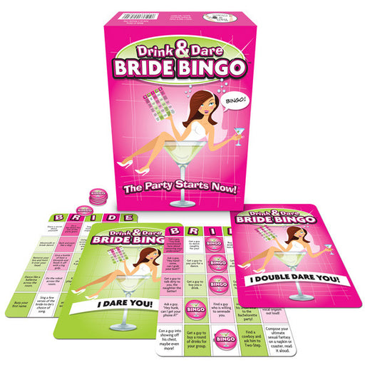 Bride to Be Drink & Dare Bingo - FestFest - Alt du har brug for til en genial fest! - 1