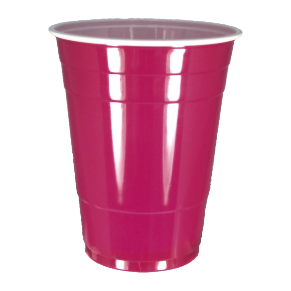 Glamour Pink Cups - American Party Cups