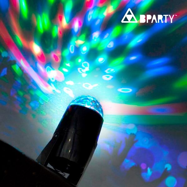 Party Multicolour LED Projektor - FestFest - Alt du har brug for til en genial fest!