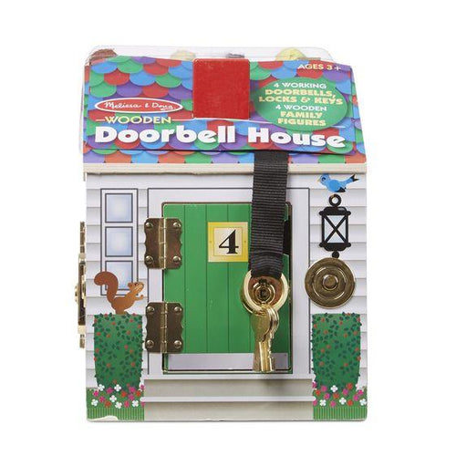 Wooden Doorbell House - souzu.co.uk