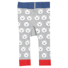 Snow Bear Knit Leggings