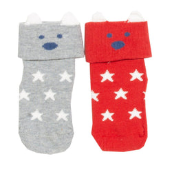 Snow Bear Baby Socks