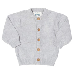My First Cardi Grey