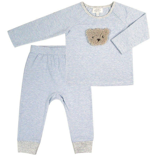 Fur Bear Applique Loungewear