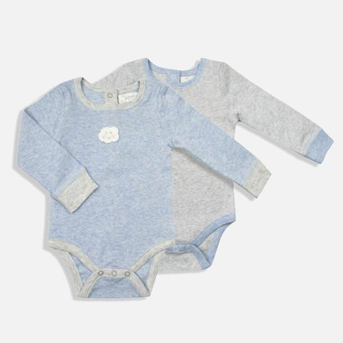 Mini Cloud & Boy Bunny Set of 2 Bodysuits