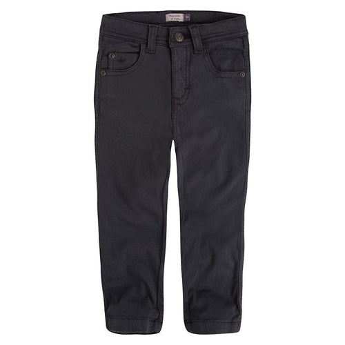 Navy Slim Fit Trousers - souzu.co.uk