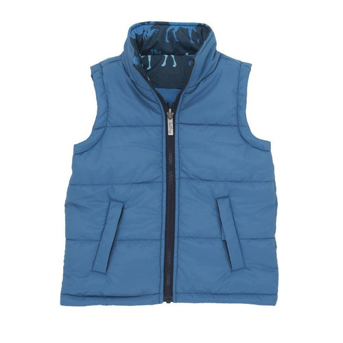 Moose Blue Reversible Gilet