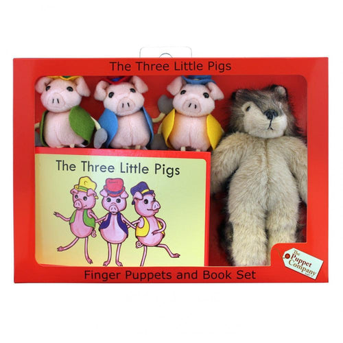 The Little Three Pigs Traditional Story Set - souzu.co.uk