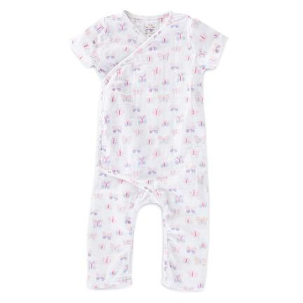 Mini Flutter Short Sleeve Babygrow - souzu.co.uk