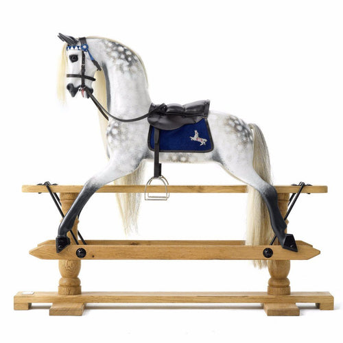 The Dapple Grey Rocking Horse