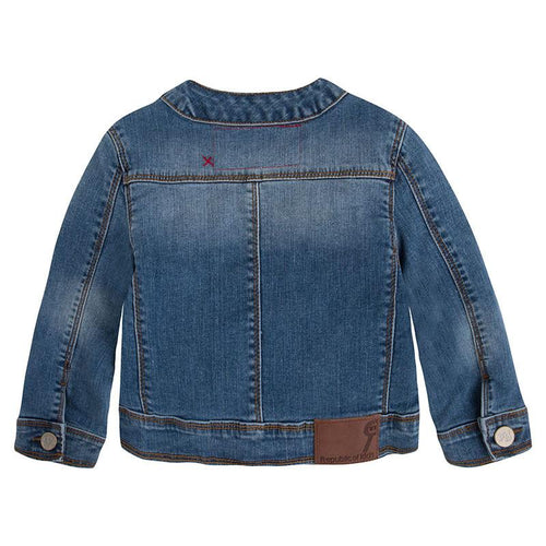 Jean Jacket for Girls - souzu.co.uk