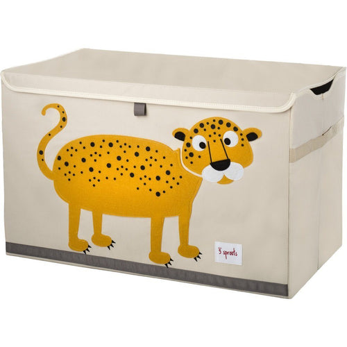 Leopard Toy Chest - souzu.co.uk