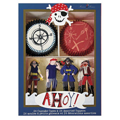 Ahoy There Pirate Cupcake Kit - souzu.co.uk