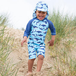 Flippers and Fins Sunsuit