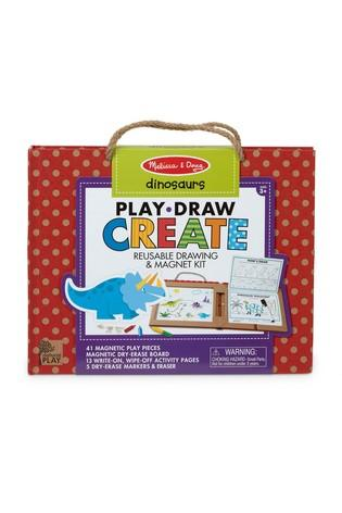 Reusable Drawing and Magnetic Kit Dino