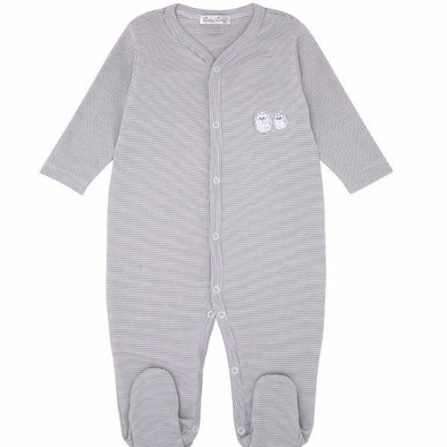 Tiny Timberland Striped Babygrow with Feet