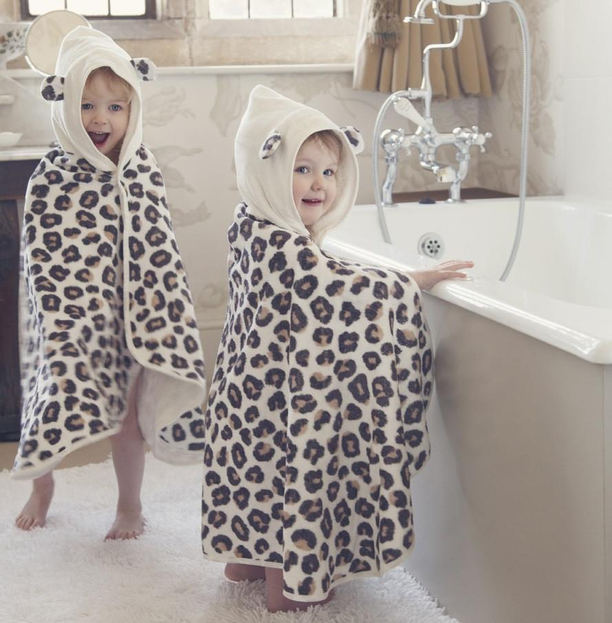 Snow Leopard Towel