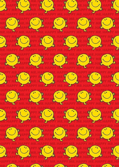 Mr Happy Gift Wrap - souzu.co.uk