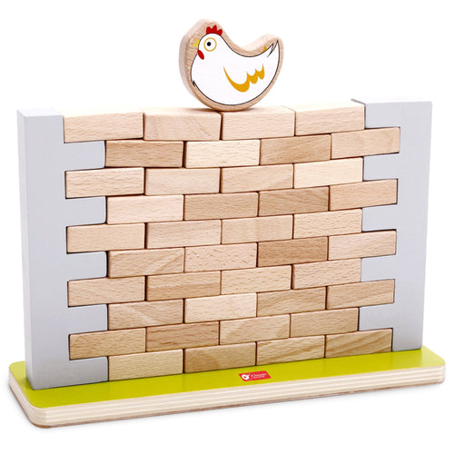 Pick a Brick Jenga Style Wall Game Classic World