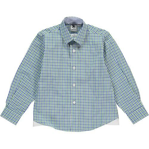 Green & Navy Shirt - souzu.co.uk
