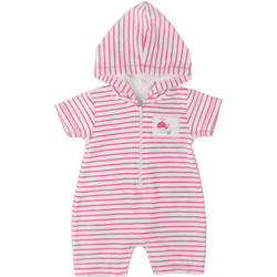 Sea Delight Stripe Beach Romper - souzu.co.uk