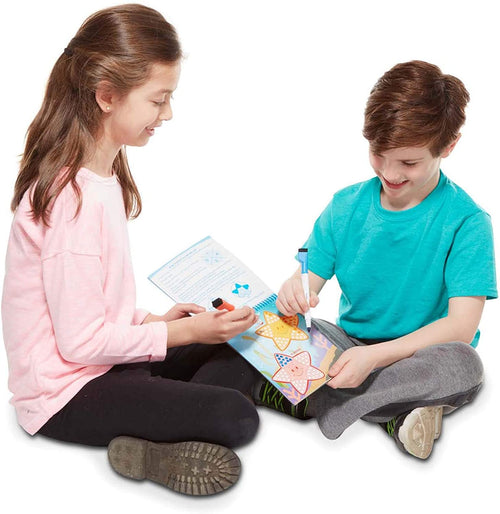 Wipe Off Activity Pad Game On