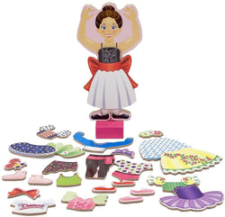 Magnetic dress-Up Nina Ballerina