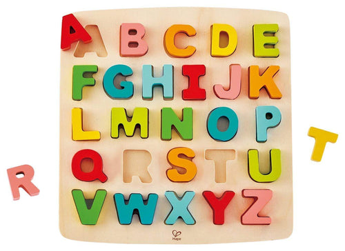 Chunky Alphabet Puzzle - souzu.co.uk
