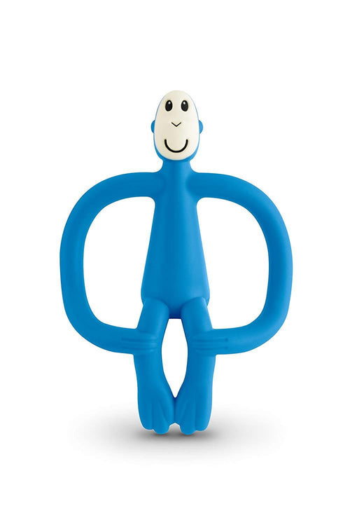 Blue Monkey Teether - souzu.co.uk