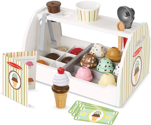 Wooden Ice Cream Counter