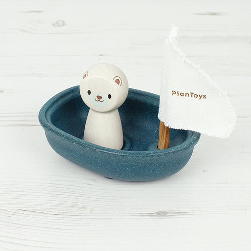 Polar Bear Sailing Boat
