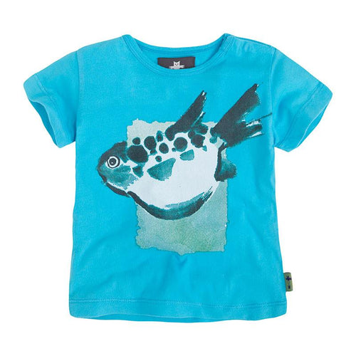 Blue Fish T-Shirt - souzu.co.uk