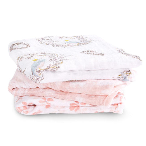 Birdsong Muslin Pack of 3 - souzu.co.uk