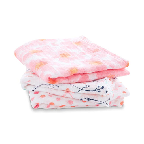 Petal Blooms Muslin Pack of 3