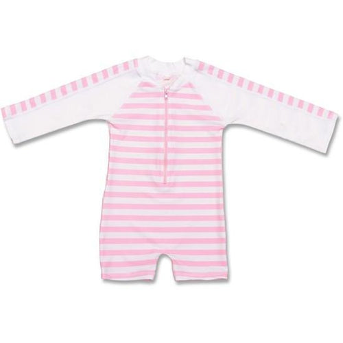 Pink Stripe One Piece - souzu.co.uk