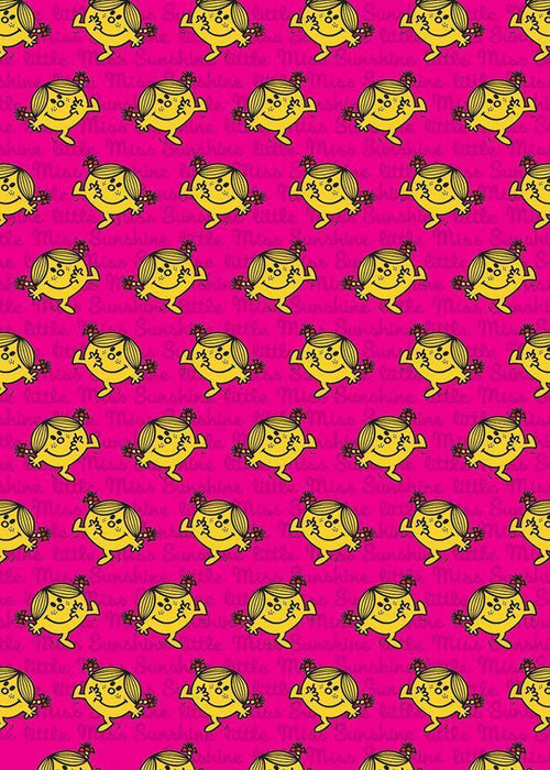 Little Miss Sunshine Gift Wrap - souzu.co.uk