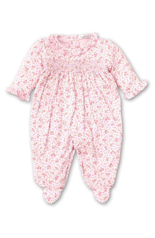 Pink Dusty Rose Babygrow - souzu.co.uk