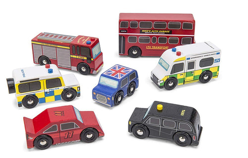 London Car Set - souzu.co.uk