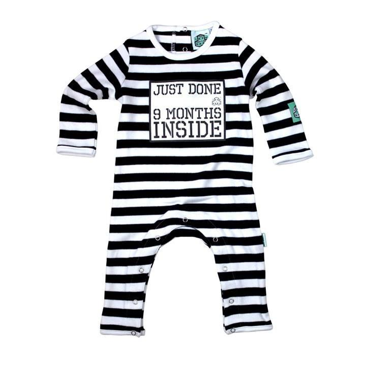 Just Done Nine Months Inside Babygrow - souzu.co.uk