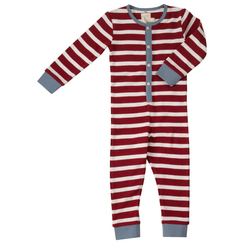 Red Stripe Onesie - souzu.co.uk
