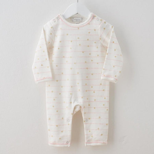 Stripe Star Wings Babygrow
