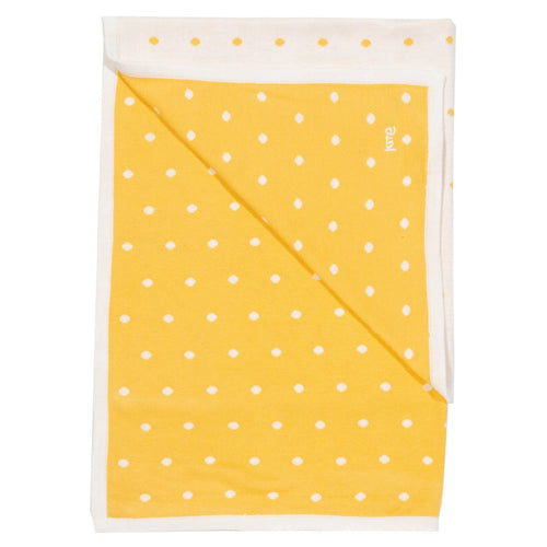Polka Dot Knit Blanket - souzu.co.uk