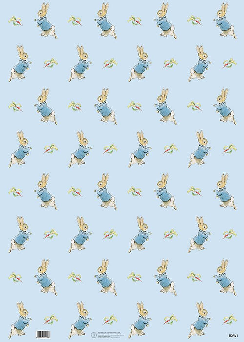 Peter Rabbit and Radish Gift Wrap - souzu.co.uk