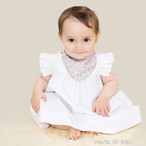 Spring Garden Dribble Bib - souzu.co.uk